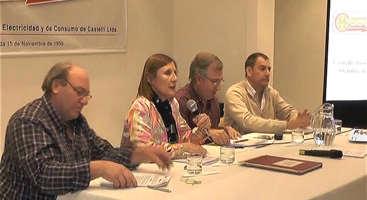Se celebró la Asamblea General Ordinaria de la Cooperativa de Electricidad CUECCA 2015