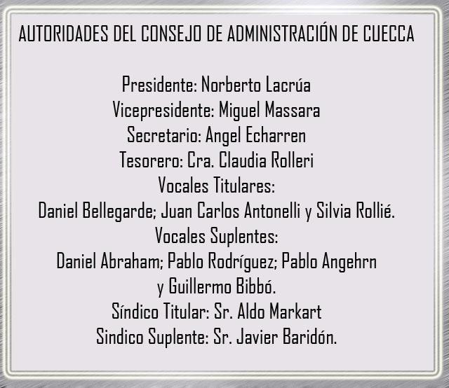Se Realizó la Asamblea General Ordinaria y se Conformó el nuevo Consejo de Administración