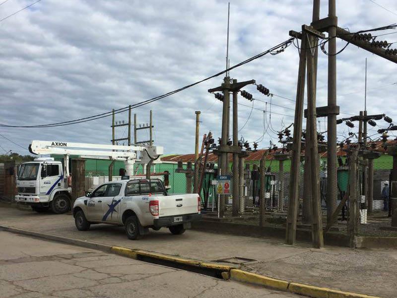 SERVICIO ELÉCTRICO DE CUECCA: TRABAJOS EN LA ESTACIÓN TRANSFORMADORA DE EDEA