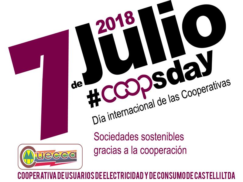 7 DE JULIO: DIA INTERNACIONAL DE LAS COOPERATIVAS