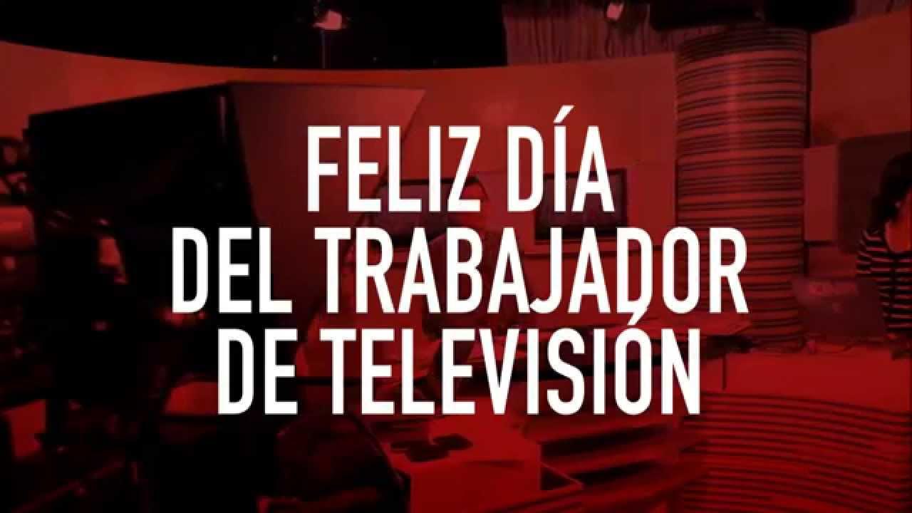 12 DE AGOSTO: DÍA DEL TRABAJADOR DE TV