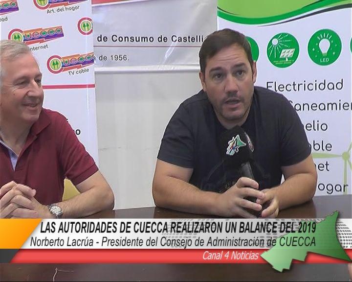 BALANCE DEL 2019 REALIZADO POR LAS AUTORIDADES