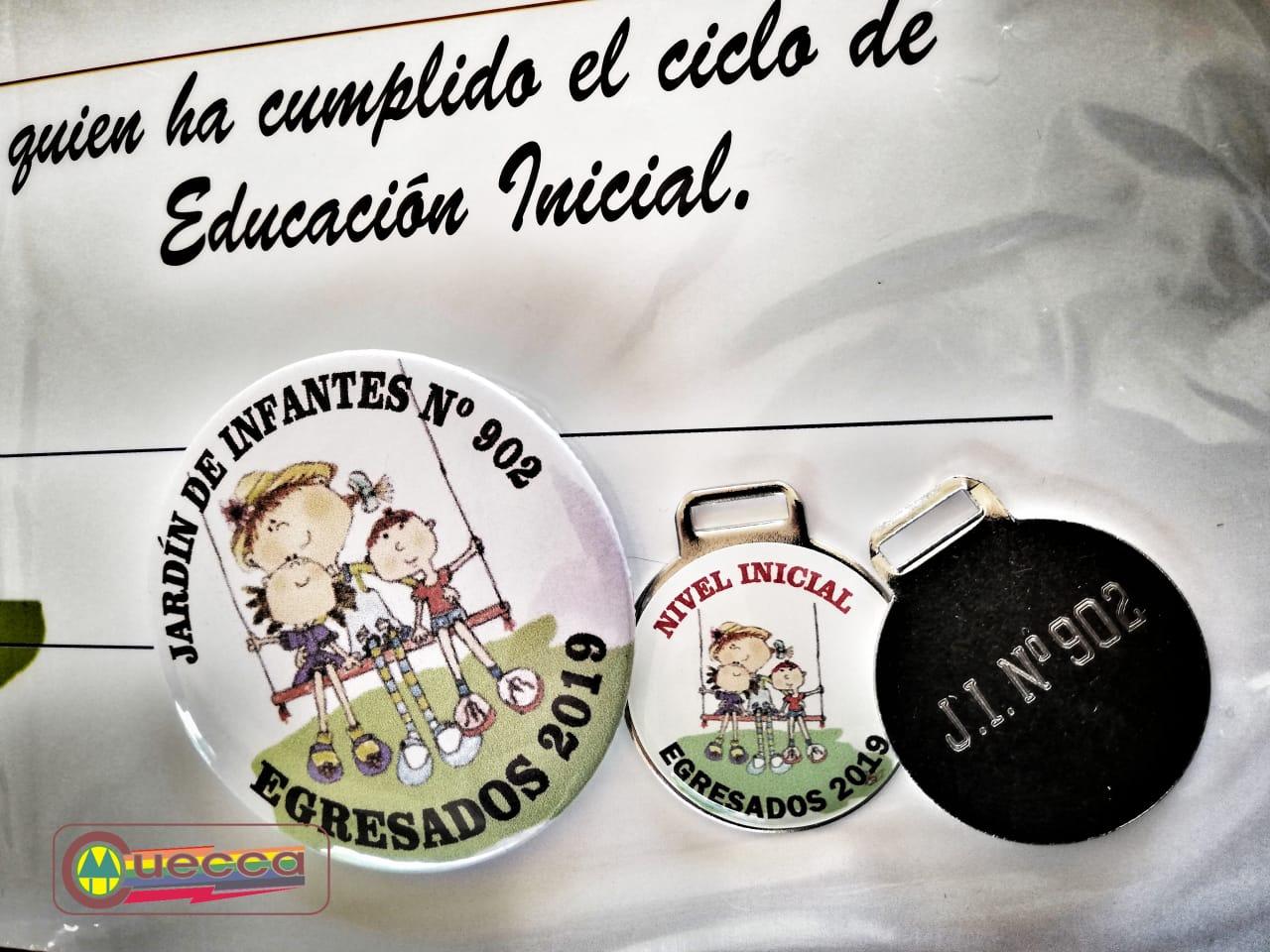 CUECCA ENTREGÓ MEDALLAS Y DIPLOMAS CIERRE DE CICLO LECTIVO AL JARDÍN 902
