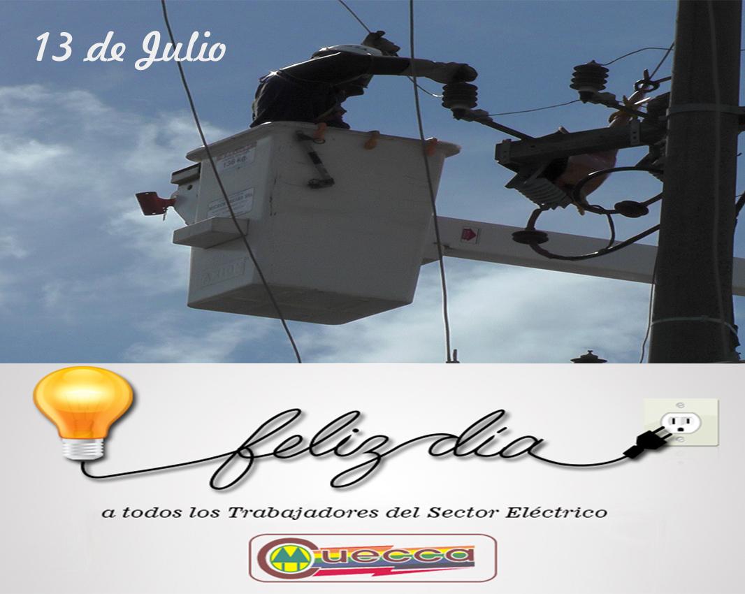 13 de Julio – Día del Trabajador de la Energía Eléctrica