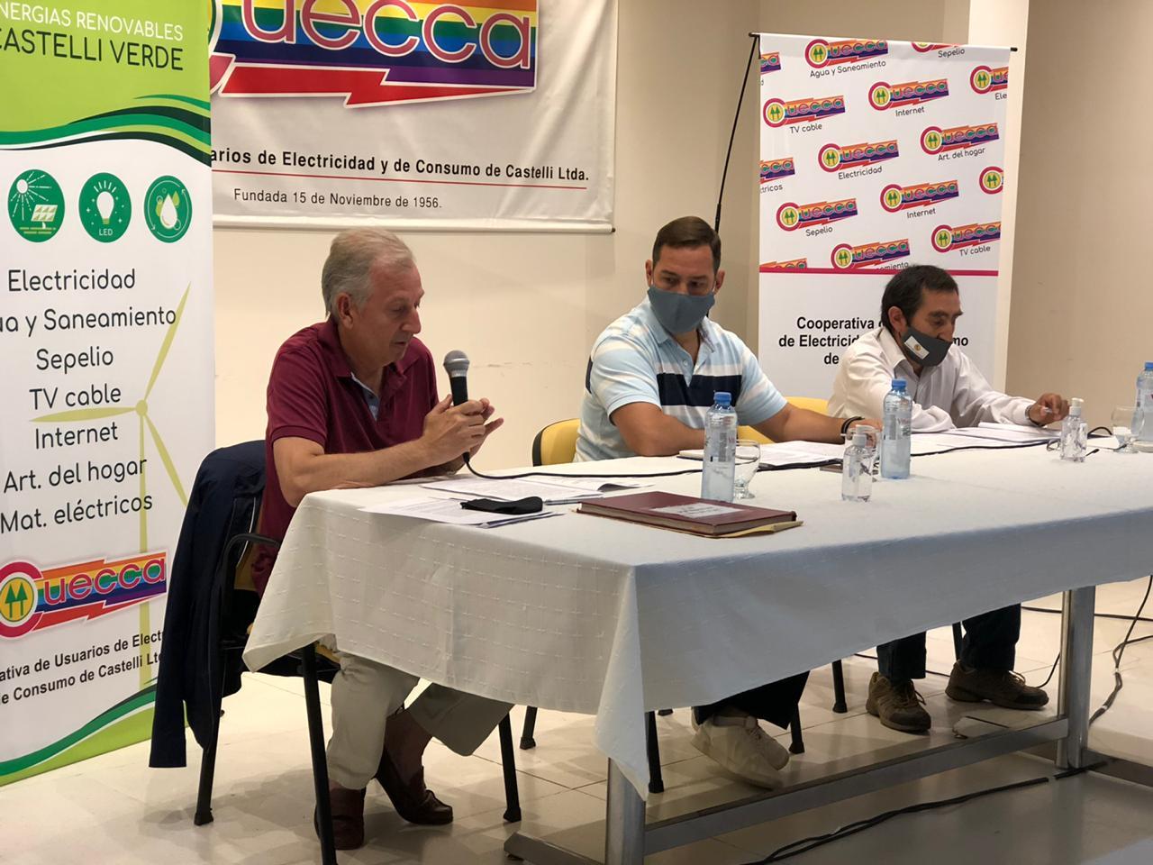 CUECCA REALIZÓ LA ASAMBLEA ANUAL ORDINARIA